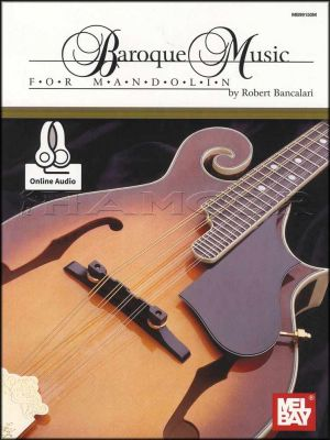 Baroque Music for Mandolin Book/Audio