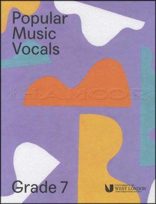 Popular Music Vocals Grade 7