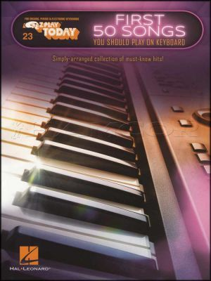 First 50 Songs You Should Play On Keyboard