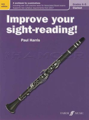 Improve Your Sight-Reading for Clarinet Grades 4-5 Revised
