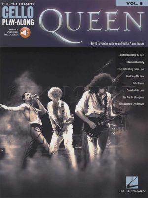 Queen Cello Play-Along Book/Audio