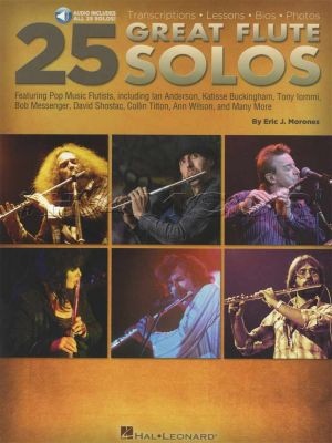 25 Great Flute Solos Book/Audio