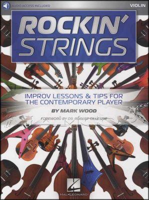 Rockin' Strings Violin Book/Audio