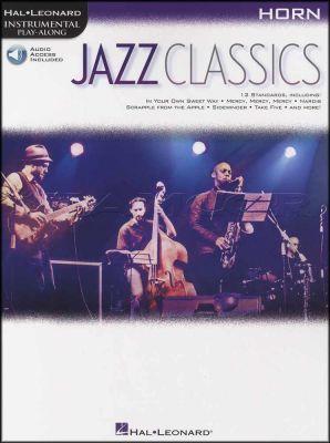 Jazz Classics Horn Instrumental Play-Along Book/Audio