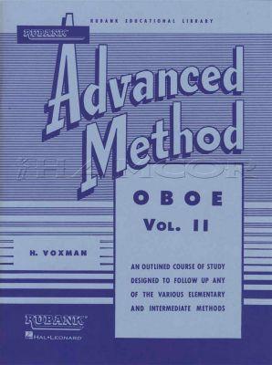 Rubank Advanced Method for Oboe Vol 2