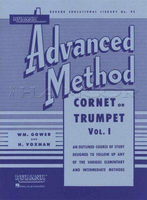 Rubank Advanced Method for Cornet or Trumpet Vol 1