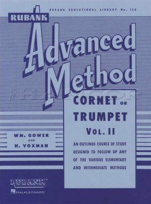 Rubank Advanced Method for Cornet or Trumpet Vol 2