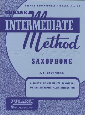 Rubank Intermediate Method for Saxophone