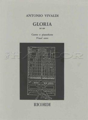 Antonio Vivaldi Gloria Vocal Score