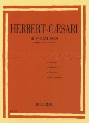 Herbert-Caesari 50 Vocalises