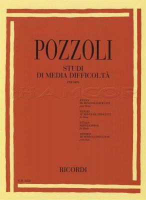 Pozzoli Studi Di Media Difficolta for Harp