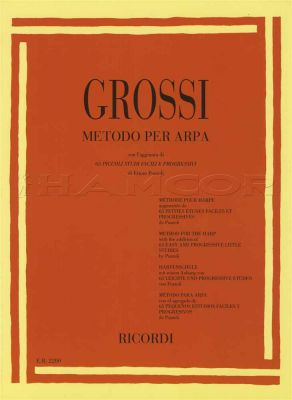 Grossi Metodo Per Arpa for Harp