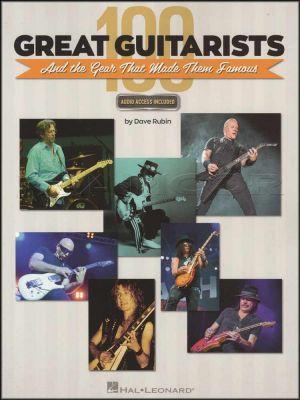 100 Great Guitarists Book/Audio