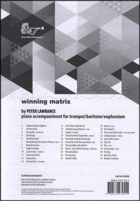 Winning Matrix Piano Accompaniment for Trumpet
