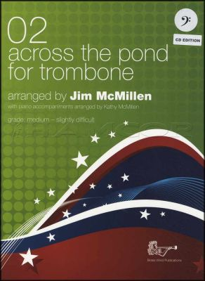Across The Pond for Trombone 02 Bass Clef Book/CD