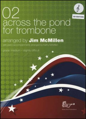 Across The Pond for Trombone 02 Treble Clef Book/CD