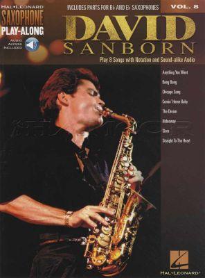 David Sanborn Saxophone Play-Along Book/Audio