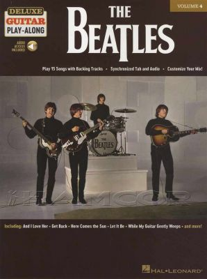 The Beatles Deluxe Guitar Play-Along Book/Audio