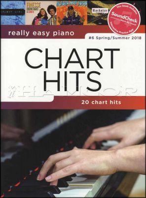 Really Easy Piano Chart Hits 6 Spring Summer 2018