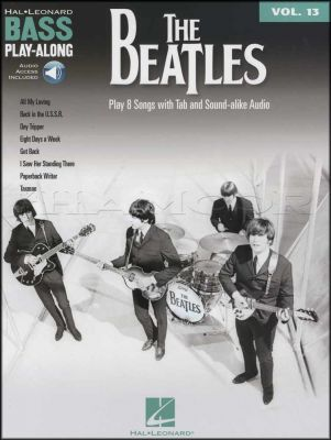 The Beatles Bass Play-Along Book/Audio