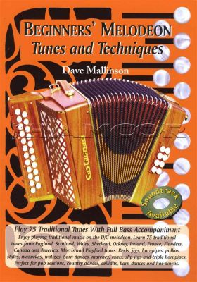 Beginners' Melodeon Tunes & Techniques Book