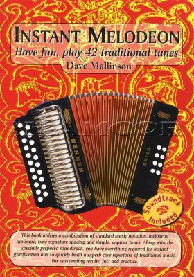 Instant Melodeon Book/CD