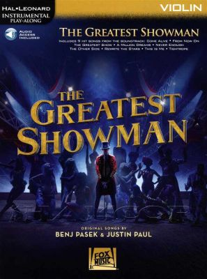 The Greatest Showman Violin Play-Along Book/Audio