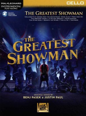 The Greatest Showman Cello Play-Along Book/Audio