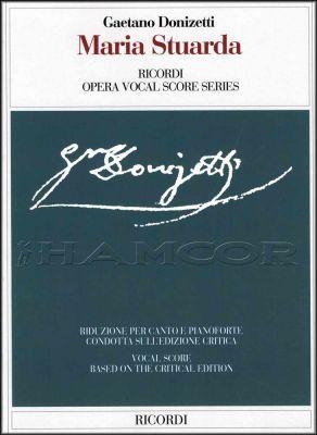 Donizetti Maria Stuarda Opera Vocal Score