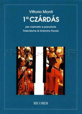 Monti 1 Czardas for Clarinet