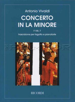 Vivaldi Concerto in La Minore for Bassoon