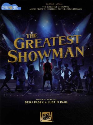 The Greatest Showman Sing & Strum Guitar Vocal