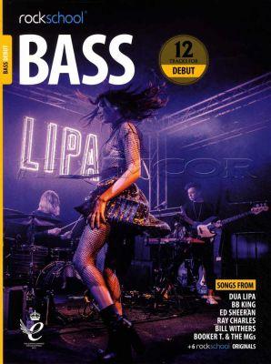 Rockschool Bass Debut 2018-2024 Book/Audio
