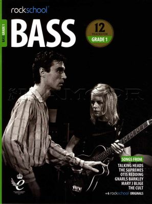 Rockschool Bass Grade 1 2018-2024 Book/Audio