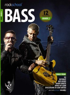 Rockschool Bass Grade 2 2018-2024 Book/Audio