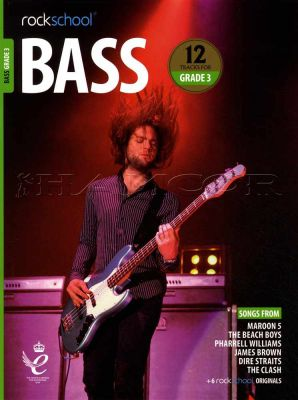 Rockschool Bass Grade 3 2018-2024 Book/Audio