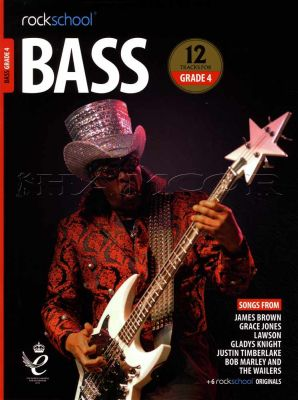 Rockschool Bass Grade 4 2018-2024 Book/Audio