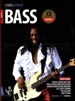 Rockschool Bass Grade 5 2018-2024 Book/Audio