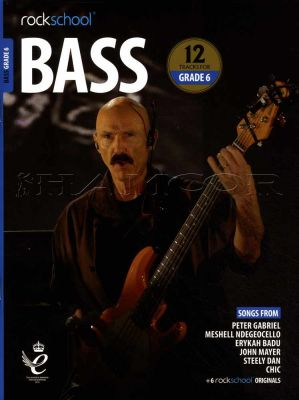 Rockschool Bass Grade 6 2018-2024 Book/Audio