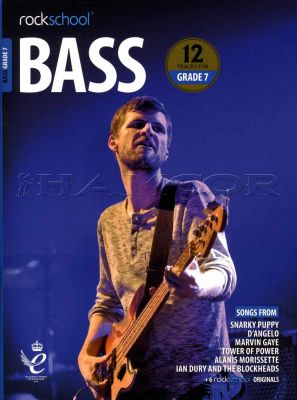 Rockschool Bass Grade 7 2018-2024 Book/Audio