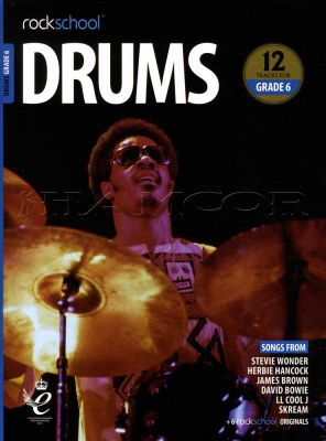 Rockschool Drums Grade 6 2018-2024 Book/Audio