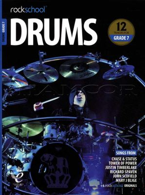 Rockschool Drums Grade 7 2018-2024 Book/Audio