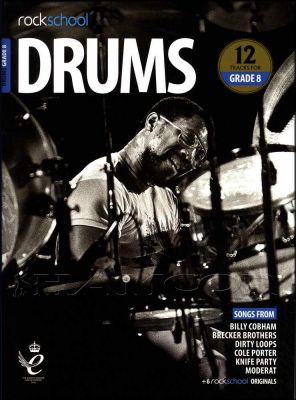 Rockschool Drums Grade 8 2018-2024 Book/Audio