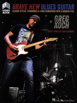 Brave New Blues Guitar Book/Video