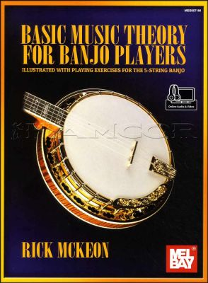 Basic Music Theory for Banjo Players Book/Audio/Video