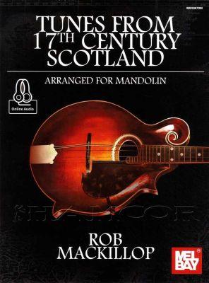 Tunes from 17th Century Scotland Mandolin Book/Audio