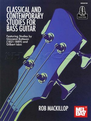 Classical & Contemporary Studies for Bass Guitar Book/Audio