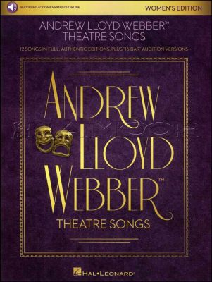 Andrew Lloyd Webber Theatre Songs Womens Edition Book/Audio