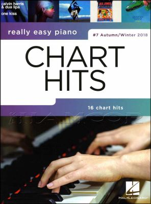 Really Easy Piano Chart Hits 7 Autumn/Winter 2018