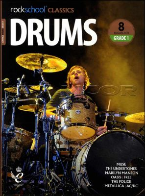 Rockschool Classics Drums Grade 1 Book/Audio